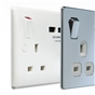 white-sq-edge-double-switched-socket-with-usb-charger-2-1a-usb-output-fits-25mm-box-ref-922u-01-1