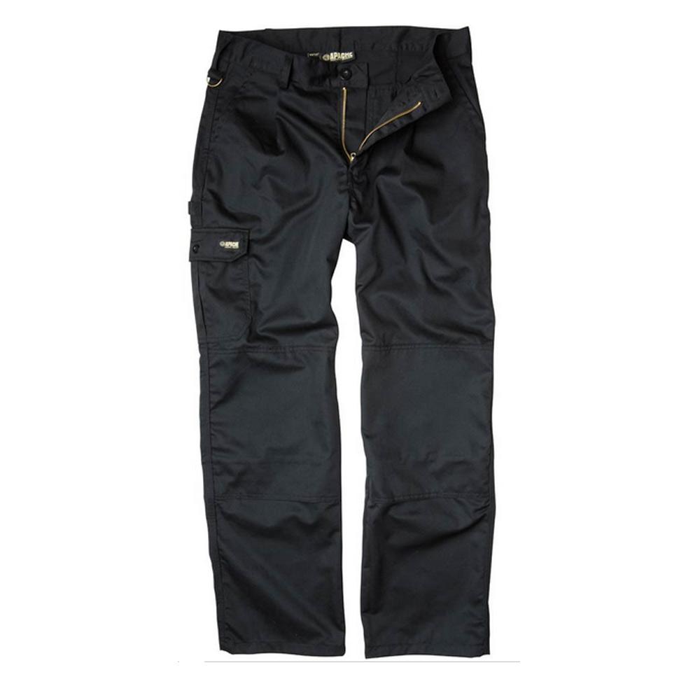 Apache Industry Trouser Black 30 Waist Leg 31 Quot Apindblk Quot