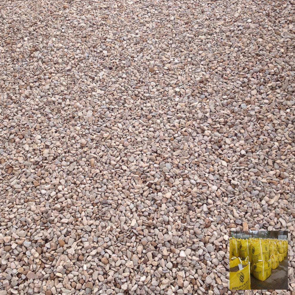 brown gravel 20mm bulk bag. Black Bedroom Furniture Sets. Home Design Ideas