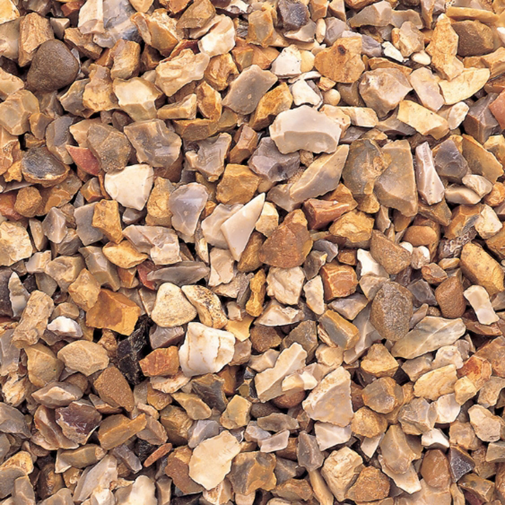 Bulk Decorative Stones : Golden gravel mm bulk bag