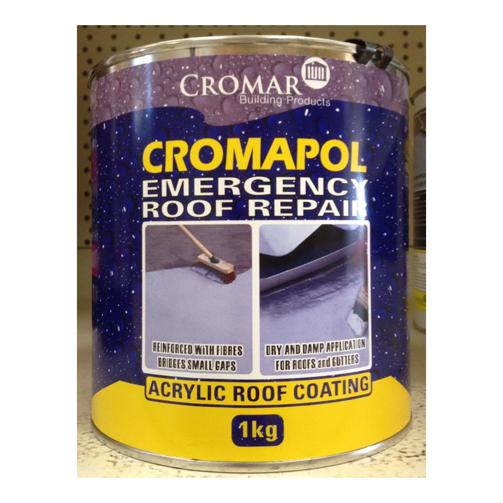 Cromapol Acrylic Roof Coating Grey 1kg