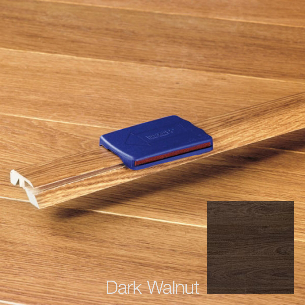 Elka 5 In 1 Laminate Profile 2150mm Long Dark Walnut Pefc