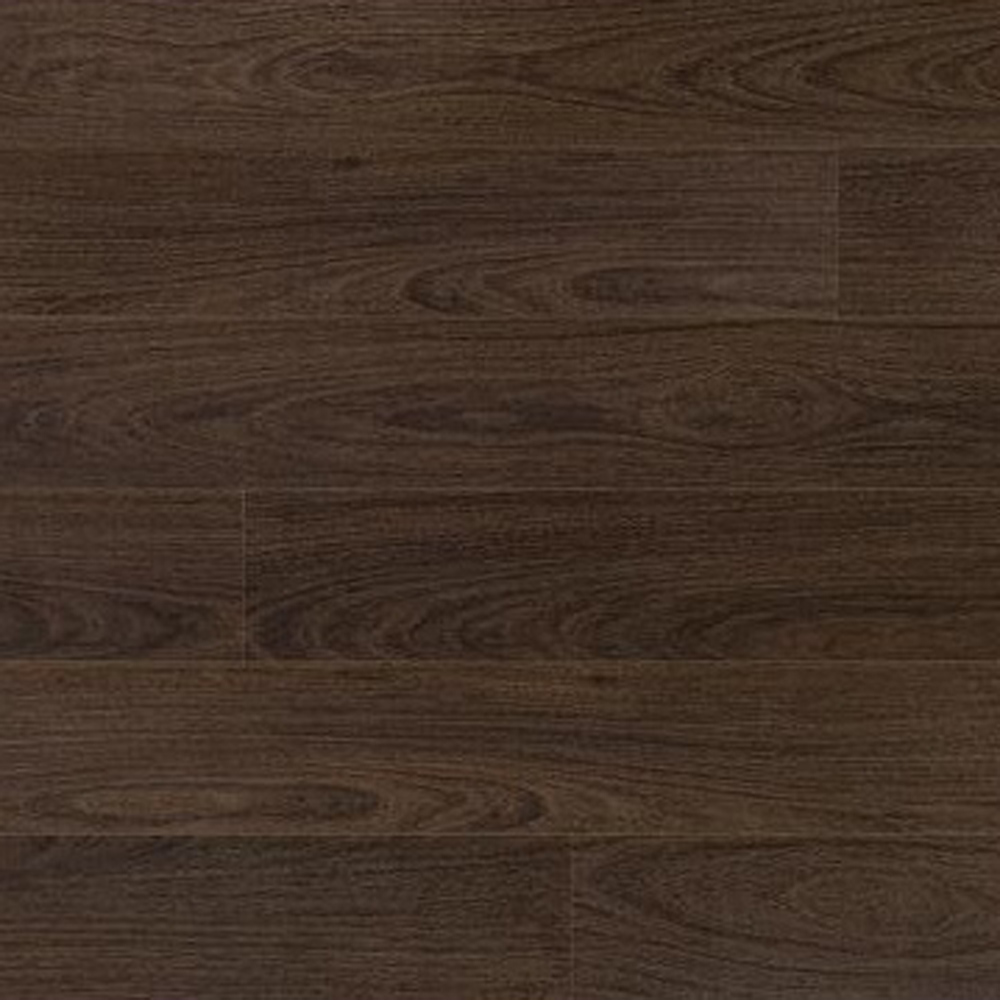 Elka 8mm laminate flooring v groove dark walnut for Walnut laminate flooring