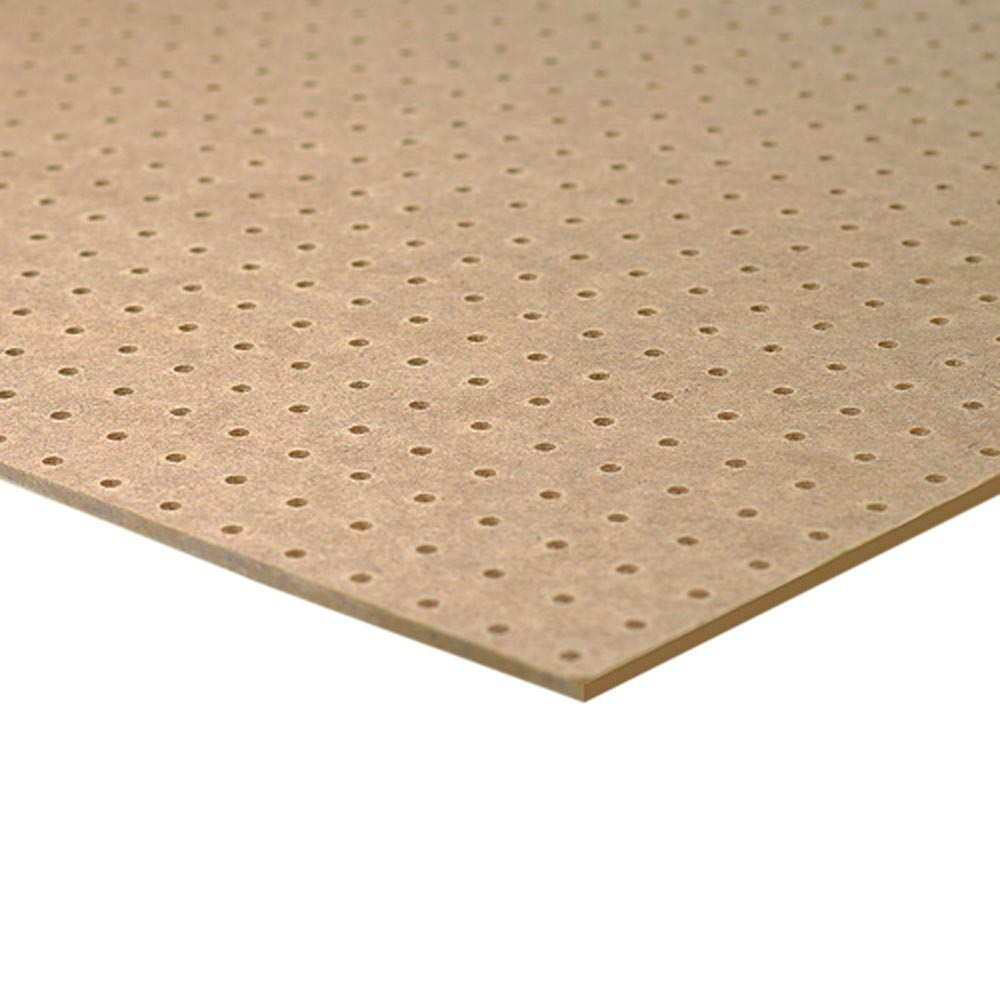 Hardboard perforated  mm