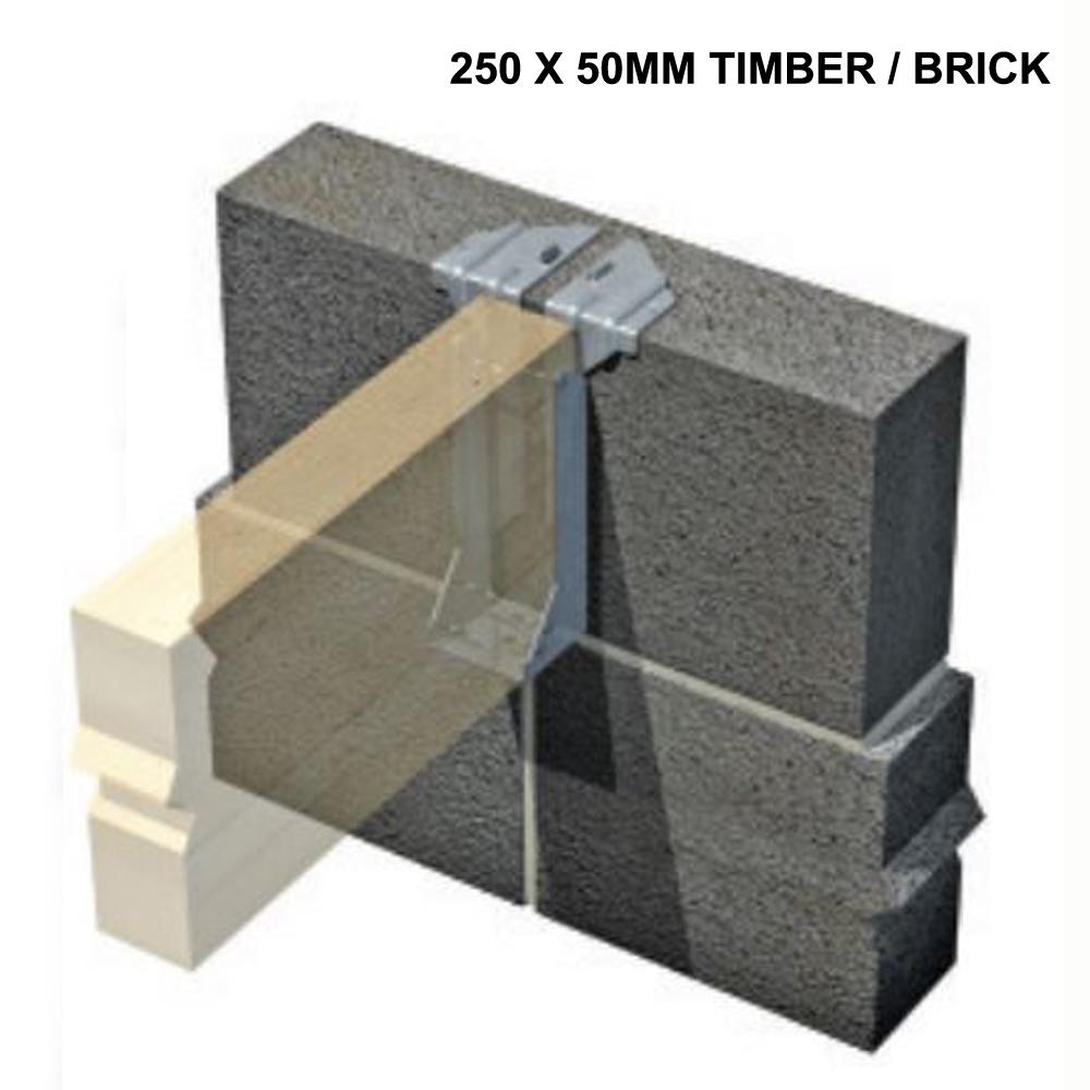 Joist Hanger 250 X 50mm Timber Brick Ref Sphs25050rt
