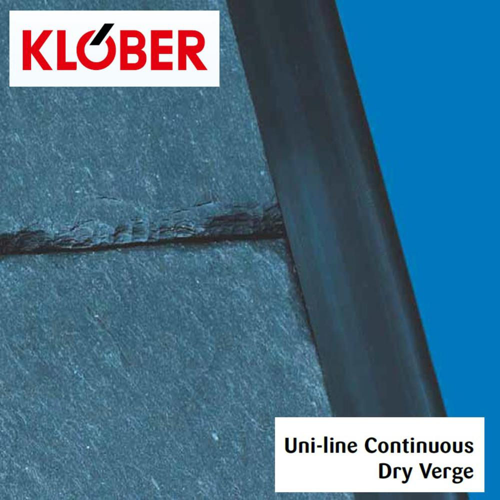 Klober Continuous Dry Verge Slate 5mtr Black
