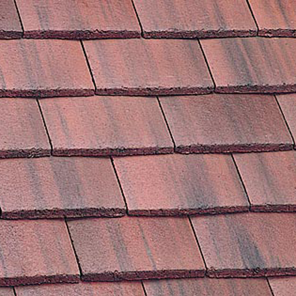 Marley Plain Tile And Half Old English Dark Red
