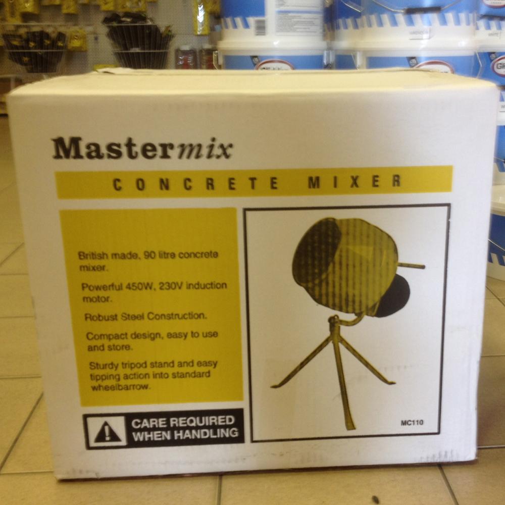 Mastermix 130 Electric Cement Mixer 230v Mb01