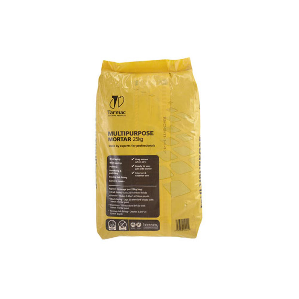 Multi Purpose Mortar Sand And Cement Mix 23kg Paper Bag