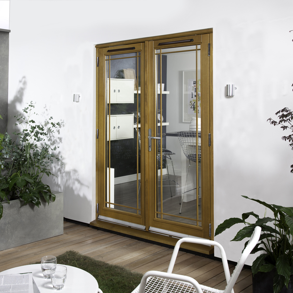 & Oak Canberra French Superior Patio Doors