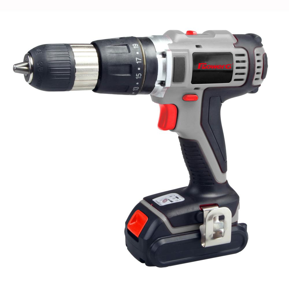 Power G 18v Li Ion Cordless Hammer Drill