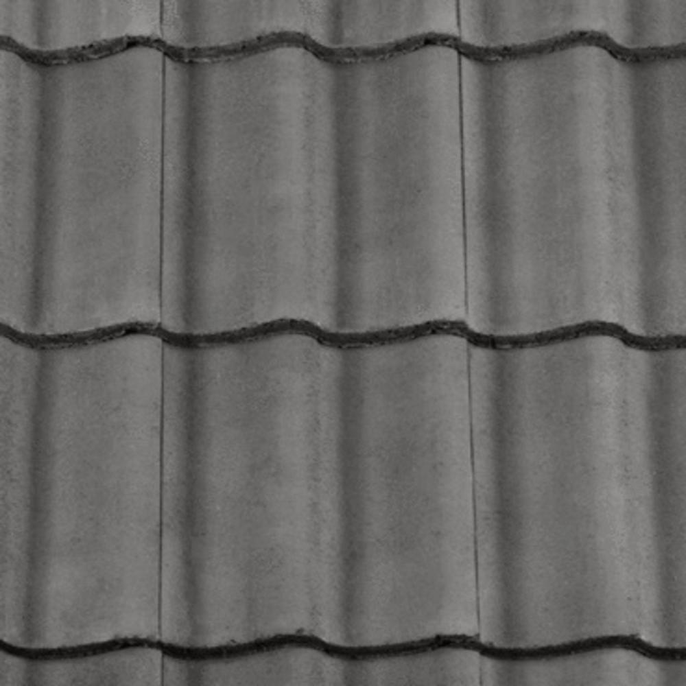 Redland Grovebury Tile Smooth Grey