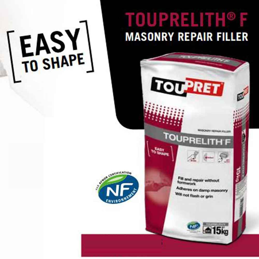 Toupret Touprelith F Exterior Masonry Filler 5kg Ref T10