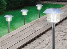 Solar post lights