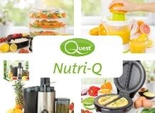 The Nutri-Q range is designed to enable you to prepare healthy and nutritious meals with ease.