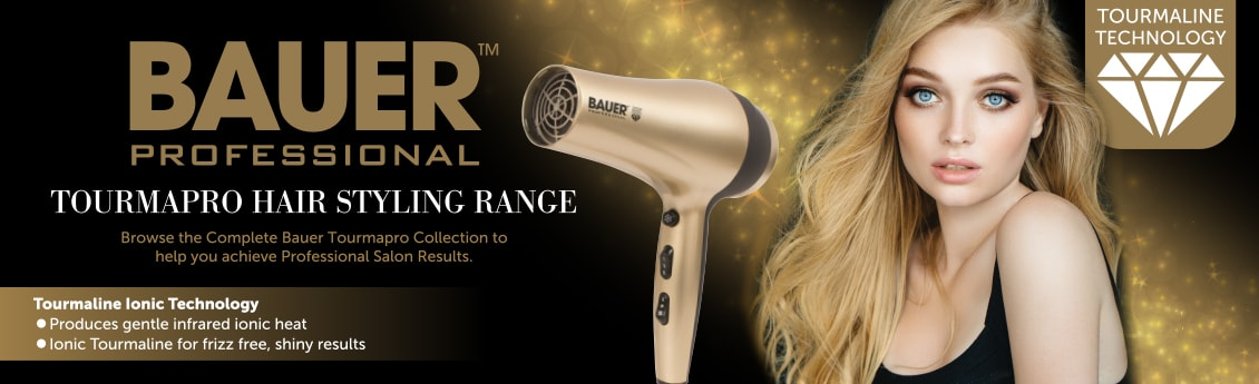 Bauer Professional hair care and beauty Banner
