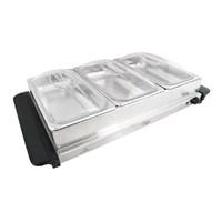 Compact Buffet Server & Warming Plate