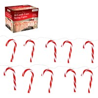 10PC Candy Cane LED Decoration String Lights