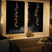 240 LED Waterfall Curtain Chaser Lights - WW