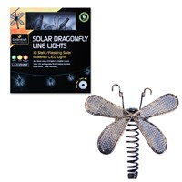10 Solar Dragonfly String Light