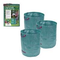 3PK Of 272L Garden Waste Bag
