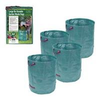 4PK Of 272L Garden Waste Bag