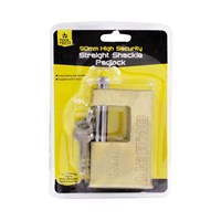 90mm High Security Straight Shackle  Padlock