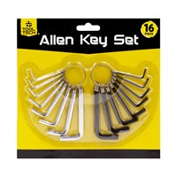 16pc Assorted Allen Key Set