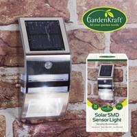 Stainless Steel Solar Sensor Light