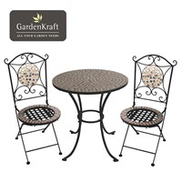 Rose Gold Mosaic Bistro Set