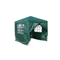 3x3m Pop-up Gazebo Side - Green - Window Side