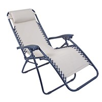 Deluxe Cream Recliner Chair - lounger