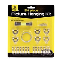 54 Piece Picture Hanging Kit