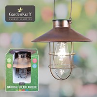 Nautical Solar Lantern - Copper