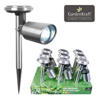 Stainless Steel Solar Spot Light