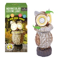Solar Owl Spot Light With Moving Head