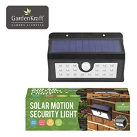 Wall Mounted Solar Motion Sensor Security Light 20