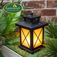 Flickering LED Lantern Battery Operated