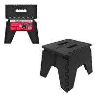 Folding Step Stool Black