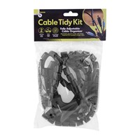 Cable Tidy Kit - Black