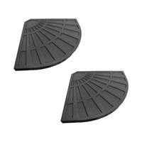 Plastic Shell With Cement Filling - Pack of 2