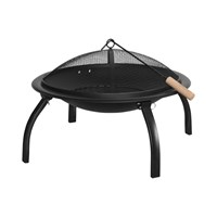 """22"""" BBQ Grill and Firepit"""