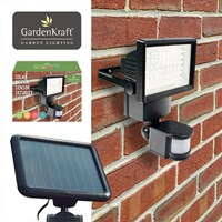 60 LED Solar Security Light With Motion Sensor