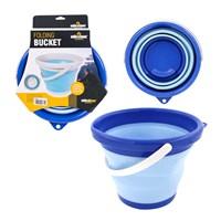 5L Folding Bucket - Blue