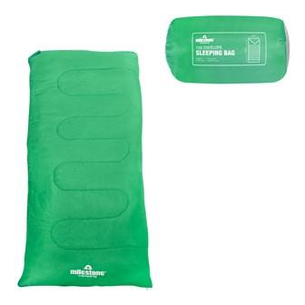 Envelope Sleeping Bag - Green - Single - 2 Seasons