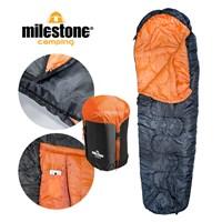 Single Mummy Sleeping Bag - 400gsm- 3 Seasons
