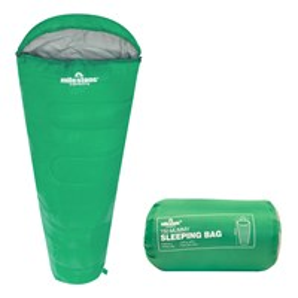 Mummy Sleeping Bag - Green - Single - 2 Seasons