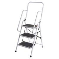 3 Step Ladder W/Safety Handles