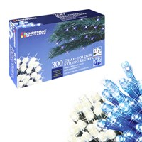 300 LED Chaser Lights - Dual Warm White/Blue