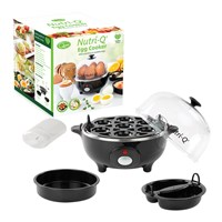 Nutri-Q Multi Egg Cooker - Black